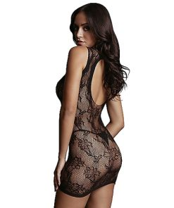 שמלת רשת מיני