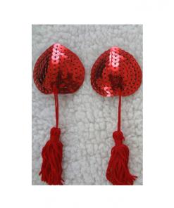 כיסוי פטמות -לוהט באדום