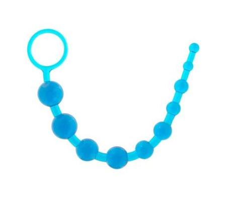 מוט חרוזים גמיש בכחול